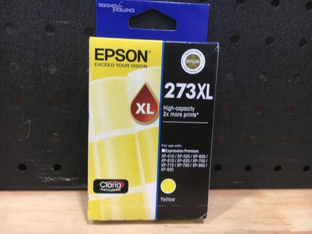 EPSON 273XL HIGH CAPACITY YELLOW  INK CARTRIDGE C13T27592