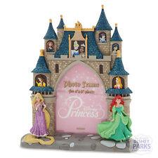 Disney Parks Princess Castle Photo Frame Picture Belle Ariel Cinderella Rapunzel