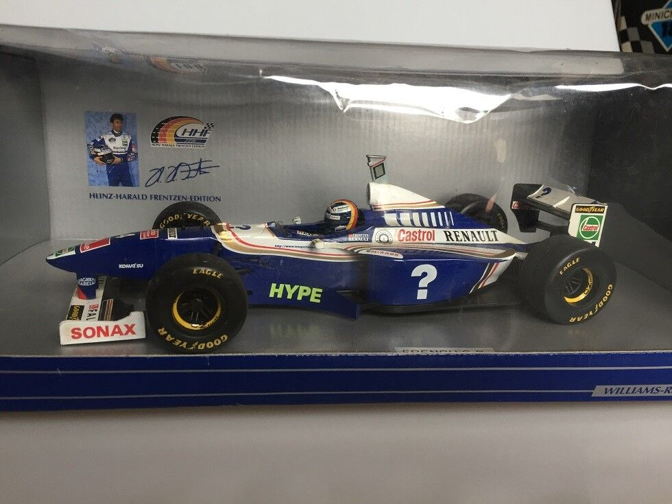 1 18 Williams Renault 1997 Heinz Harlad Minichamps