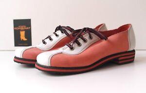 on sale 77b33 d0070 Details zu LEISER Berlin Herren Schuhe 60er Rockabilly Halbschuhe  Schnürschuhe TRUE VINTAGE