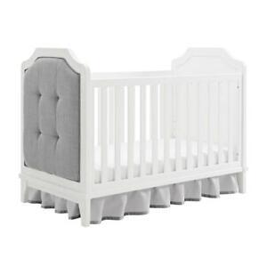 Baby Relax Cricket 3 In 1 Upholstered Crib White 65857192810 Ebay
