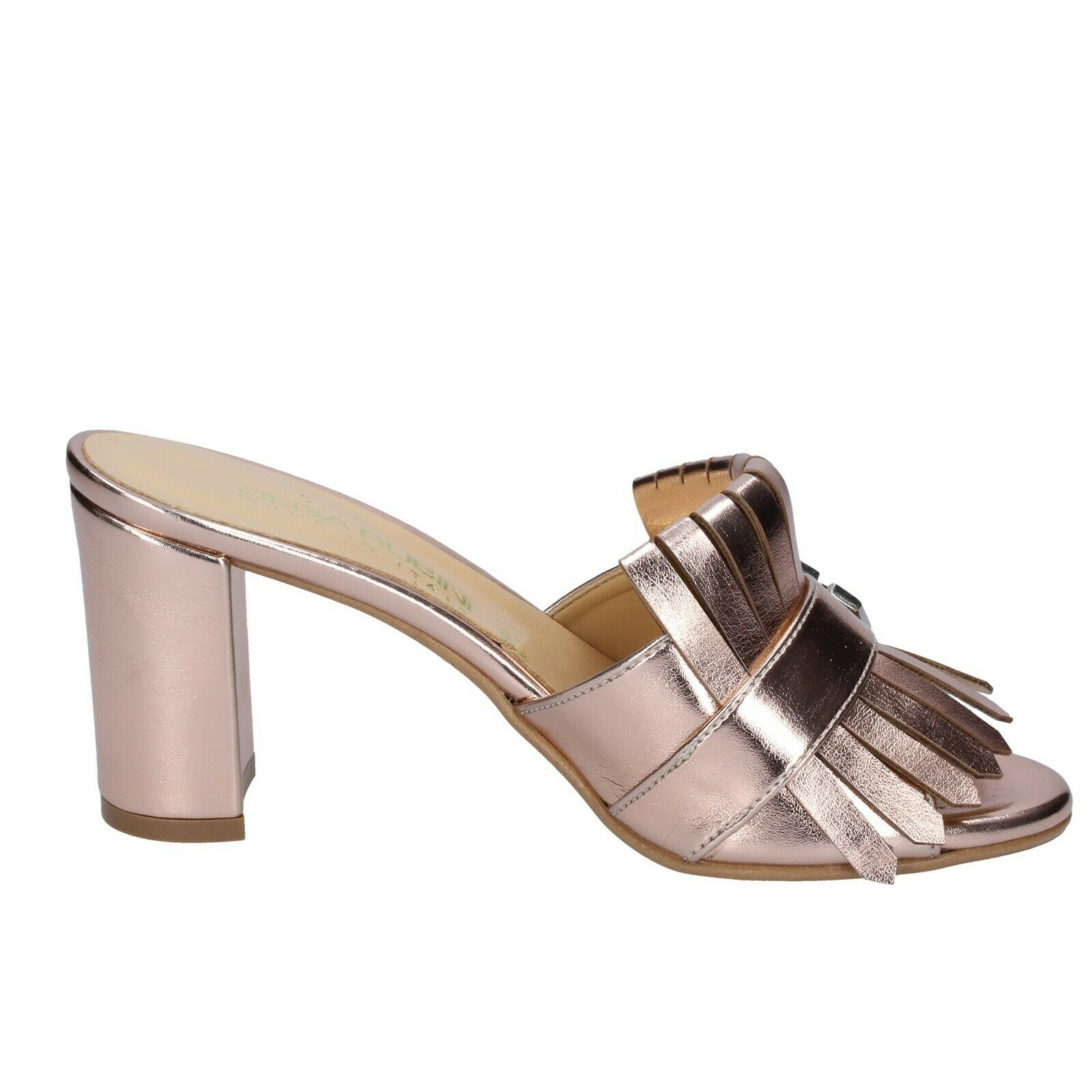 new product ba46a 4dc4e ... Donna scarpe OLGA RUBINI RUBINI RUBINI 5 (EU 35) sandals rosa leather  BS371 81fe1b ...
