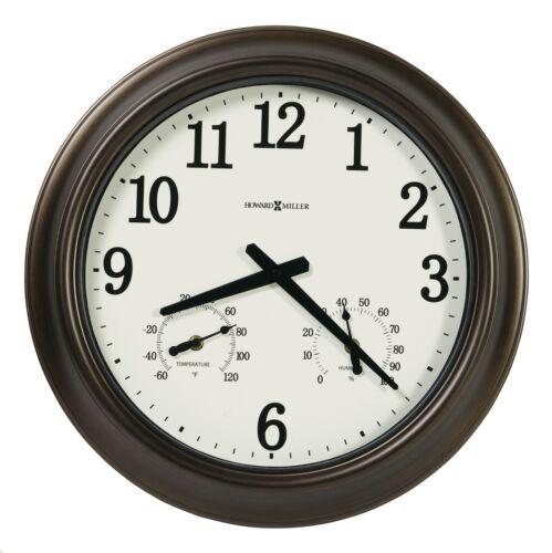 """NEW HOWARD MILLER OUTDOOR WALL CLOCK 625-675 CALLED /""""BAYSHORE OUTDOOR/"""" 625675"""