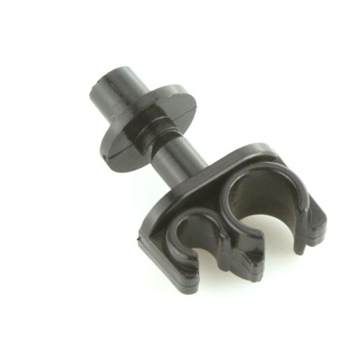 Brake /& Fuel Pipe Clips Twin Push in Pack of 5 For Kit Car Track Rally