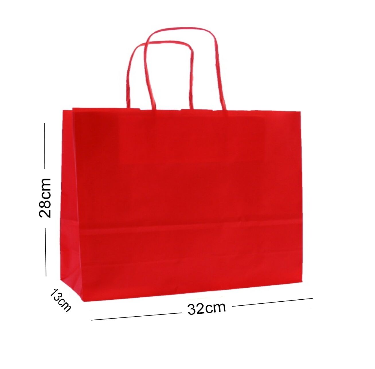 rot Landscape Large Paper Party Gift Bags  Boutique Shop Bag