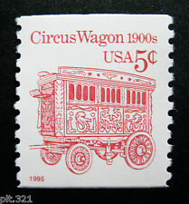 Sc # 2452D ~ 5 cent Circus Wagon 1900s Issue