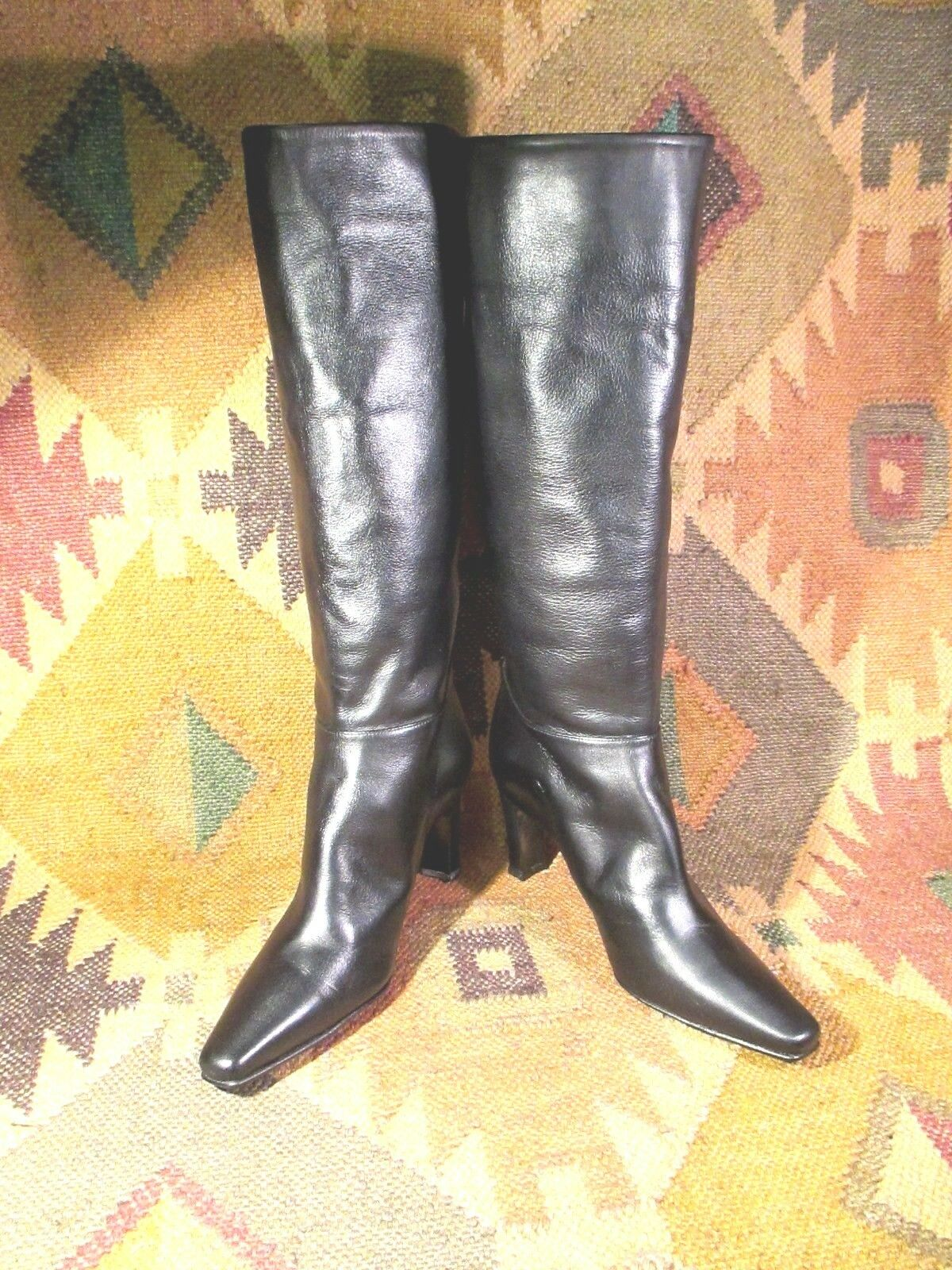 distribuzione globale TIMOTHY TIMOTHY TIMOTHY HITSMAN nero Real Leather stivali Heels Dimensione 6 M made in Spain  acquista online