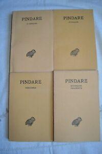 PINDARE-NEMEENNES-PYTHIQUES-ED-LES-BELLES-LETTRES-1966-4T-TBE