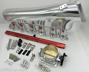 Racetune 2JZ-GTE Billet Intake Manifold Plenum SET 2JZ Supra Soarer Aristo 2J