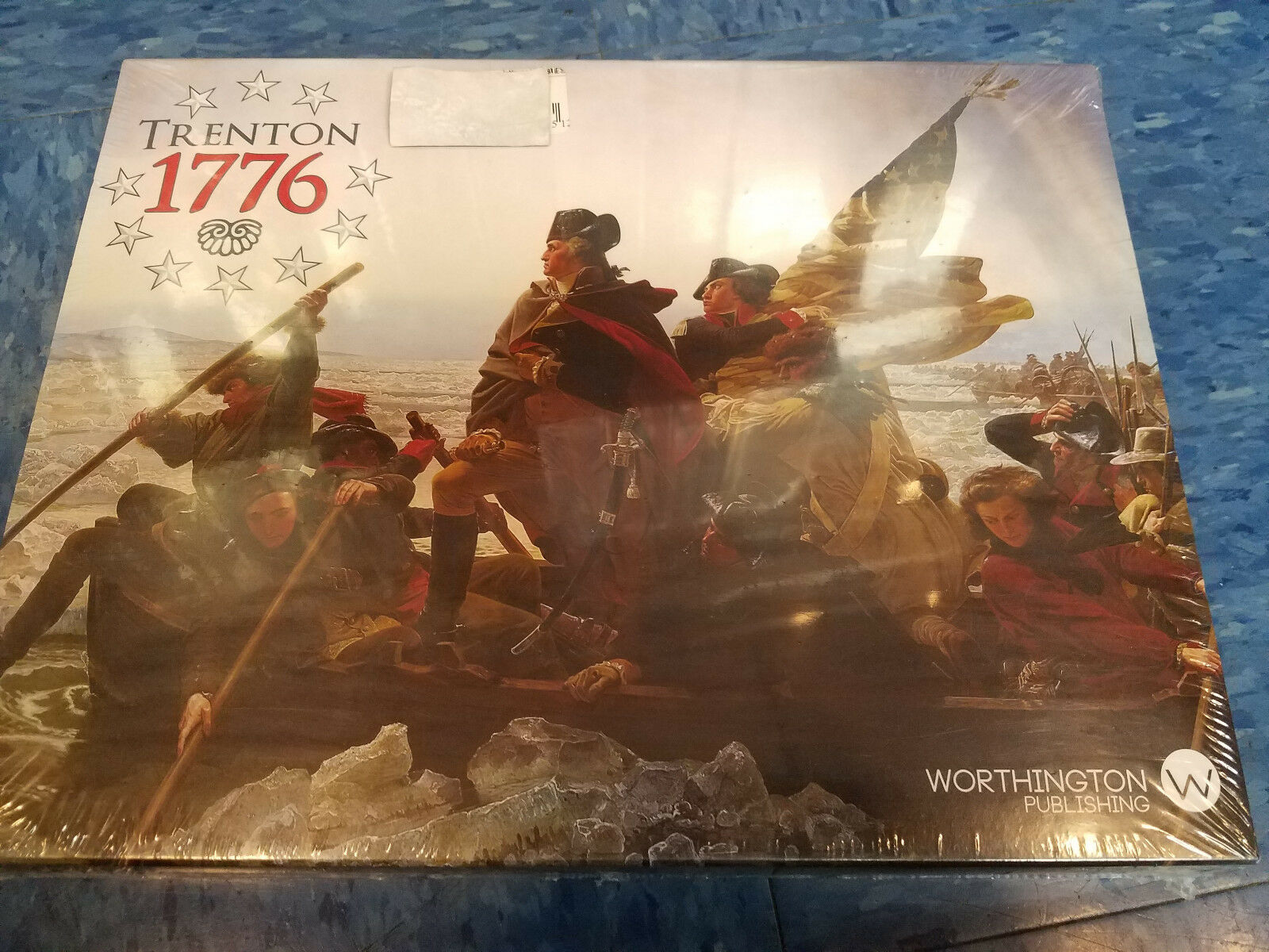 Trenton 1776 - Worthington Publishing Games War Board Game New