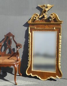 Image Is Loading Vintage Federal Eagle Style Wall Mirror W Phoenix