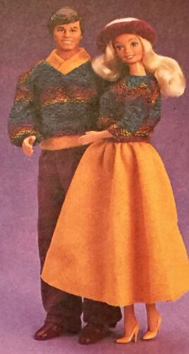 BARBIE/'S BFF Ken  Sweater Soft Fashions Item # 4496 NRFP 1987