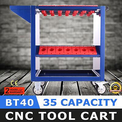 BT40 CNC Tool Trolley Cart Holders Toolscoot Super CAT40 CT40 40-Taper NMBT40