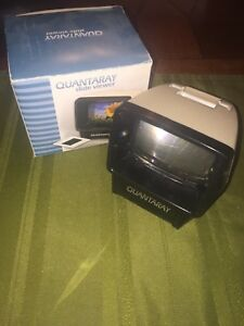 Portable Quantaray Auto 2 In Slide Viewer Box Light Up Quick View