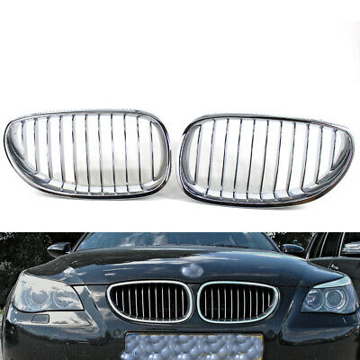 Right Chrome Kindey Grille for BMW 5 Series E60 E61 AUTOPA 51137065701 Front Left