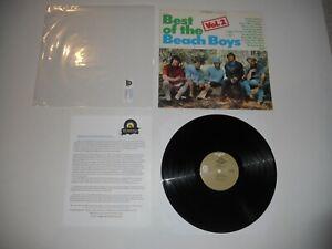 Best-of-the-Beach-Boys-Vol-2-USA-039-72-Analog-EXC-ULTRASONIC-Clean