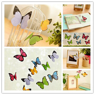 Post It Note Bookmark Flag ButterflyShape Sticky Memo Paper Pad Lovely Novelty