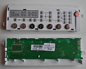 MACHINE A LAVER CANDY CLT373DM-47 PLATINE MODULE COMMANDE 41041466  30413494
