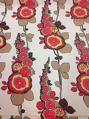 Anthropologie Modern Ethnic Floral Upholstery Drapery Fabric 20 7 Yd Bolt Rare Ebay