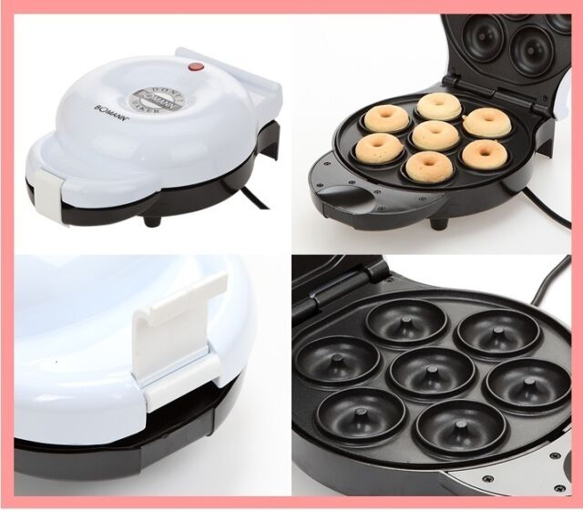 Bomann Donut Maker Home Baking DM1120 Home Baking Cooki Maker Waffle pan EXPShip