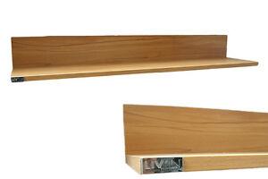 Steckregal design  XXL Wandboard Wandregal Steckregal Regal 126cm Kernbuche Design ...