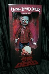 Living-Dead-Dolls-Plaid-Shirt-Zombie-Dawn-of-the-Dead-George-Romero-sullenToys