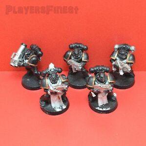 GW-Dark-Angels-Taktischer-Trupp-5-Mann-Varainte-B-bemalt-Warhammer-40K