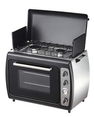 Leisurewize 1000W Home Caravan Motorhome Portable Cooking Twin Hot Plate Cooker
