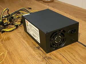 Switching-Power-Supply-1600k-1446-Watt-Netzteil-Mining-Top-Zustand