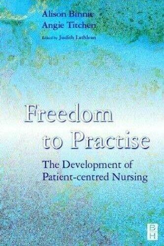 Freedom Sich Praxis: Die Entwicklung Von Patient-Centred Stillen Alison