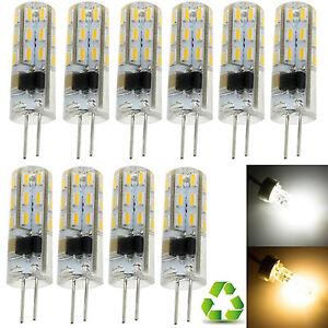 1-X-10x-Mini-G4-Silicone-Cristal-Ampoule-Led-Clair-3W-5W-3014SMD-Lampe-12V-220V