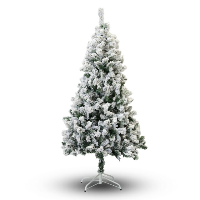 Perfect Holiday Christmas Tree Snow Flocked 4 5 6 7 8 Feet