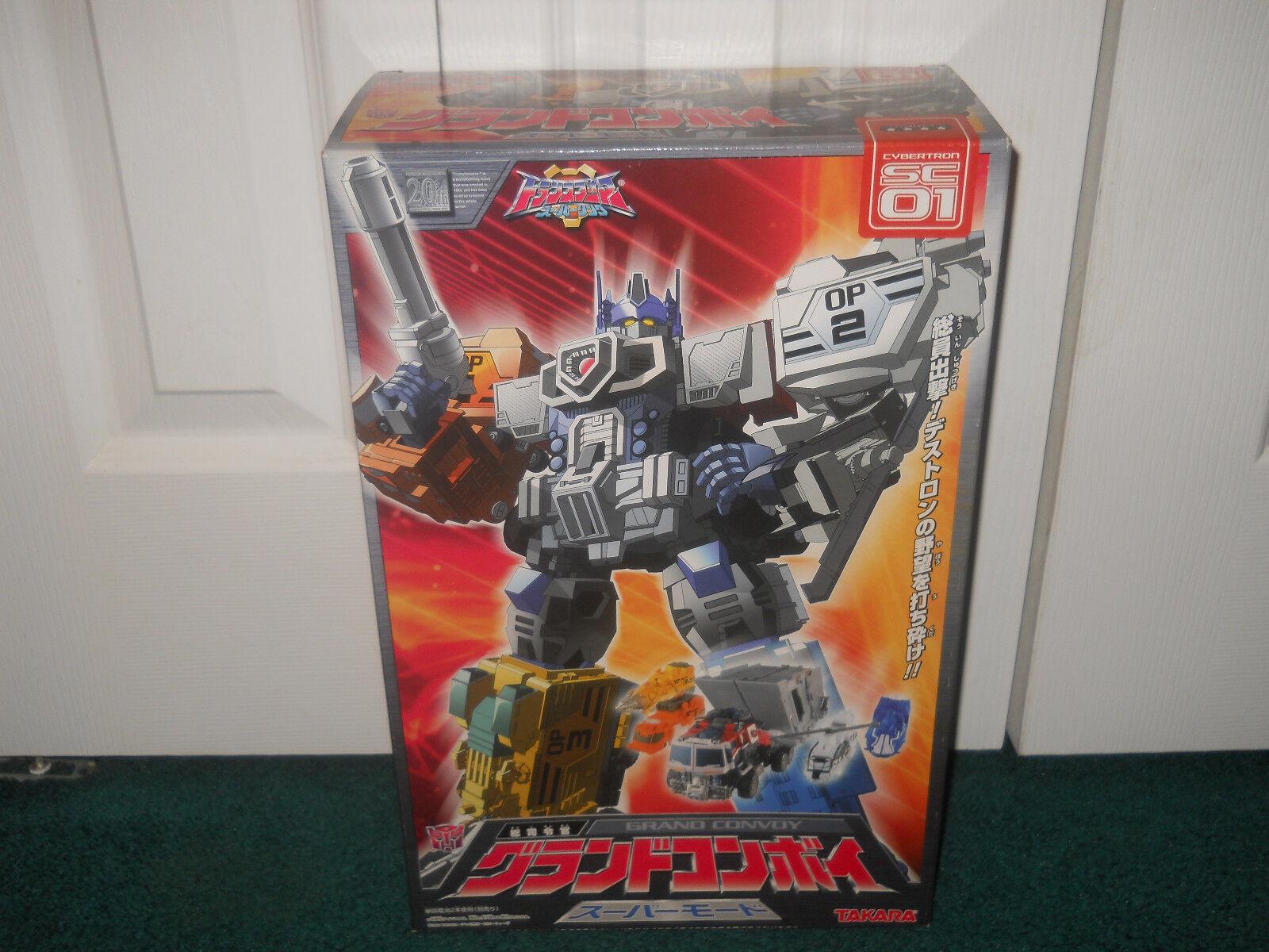 Grand Convoy Sc-01 Cybertron Super enlace Transformers Takara PSIM