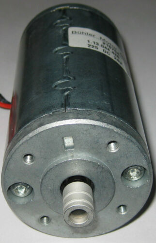 5000 RPM Buhler Permanent Magnet 24 V DC Large Hobby Motor with Pulley