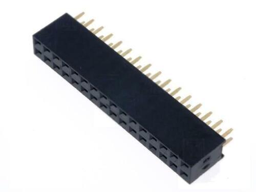 2x ZL262-32DG Socket pin strips female PIN32 straight 2.54mm THT 2x16 NINIGI