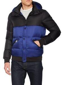 en Veste duvet Jeans pour bicolore capuche Armani amovible hommes 3xl avec qEZ5wxwT