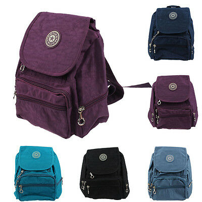 2015 School Bookbag Nylon leisure Backpack Rucksack Satchel School Hiking Bag