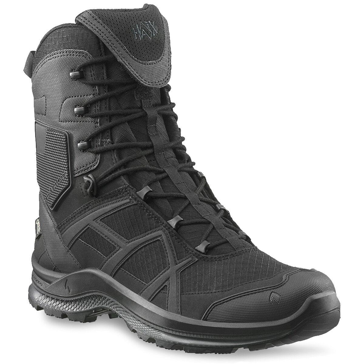 Haix Negro Eagle Athletic 2.1 GTX Alta Gore-Tex Impermeable botas Tácticas de policía