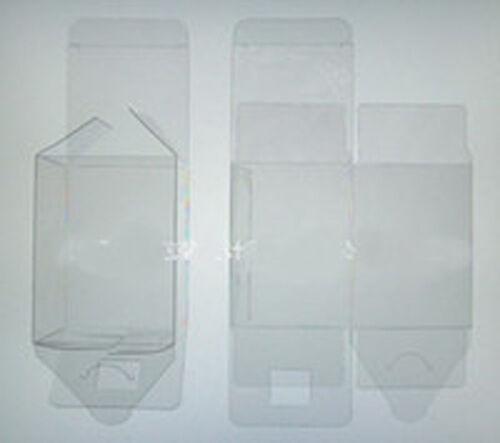 144 PVC Plastic Acetate Bomboniere favor clear wedding gift 5cm square cube box
