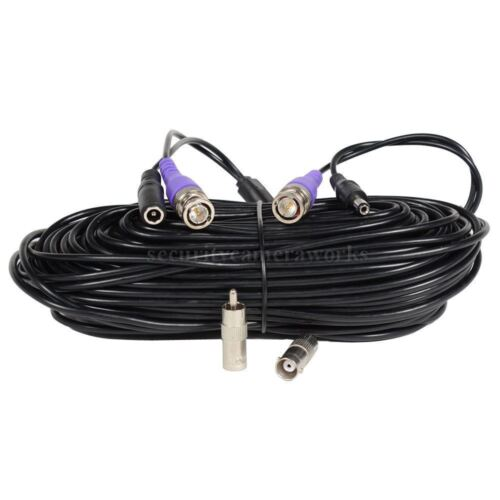 2x 150ft Video Power Cable for AHD HD-CVI HD-TVI Analog HD Security Camera B8I
