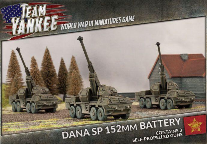 Team Yankee - DANA SP 152mm (x3) TWBX01