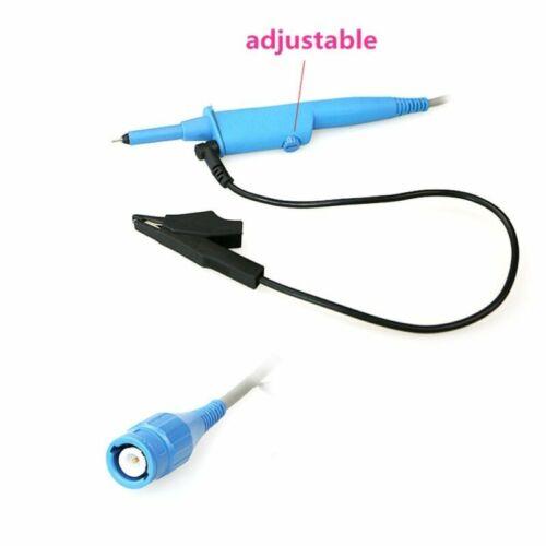Oscilloscope Sonde Passive Clip Sonde P2500B 10X 500MHz Bleu