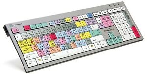 Details about LogicKeyboard Autodesk SMOKE Nero Slim-LightLight For  PC/Linux-LKBU-PHOTOCC-AJPU