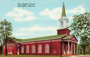 Postcard-First-Baptist-Church-Springfield-Missouri