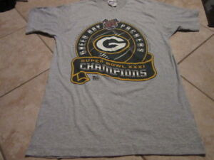 Green Bay Packers Super Bowl XXXI Champions Original Vintage Never ... f37636ffc