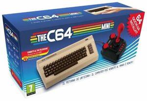 THE C64 MINI - COMMODORE 64 MINI - NUOVA CONSOLE GAME / COMPUTER / USB / HDMI