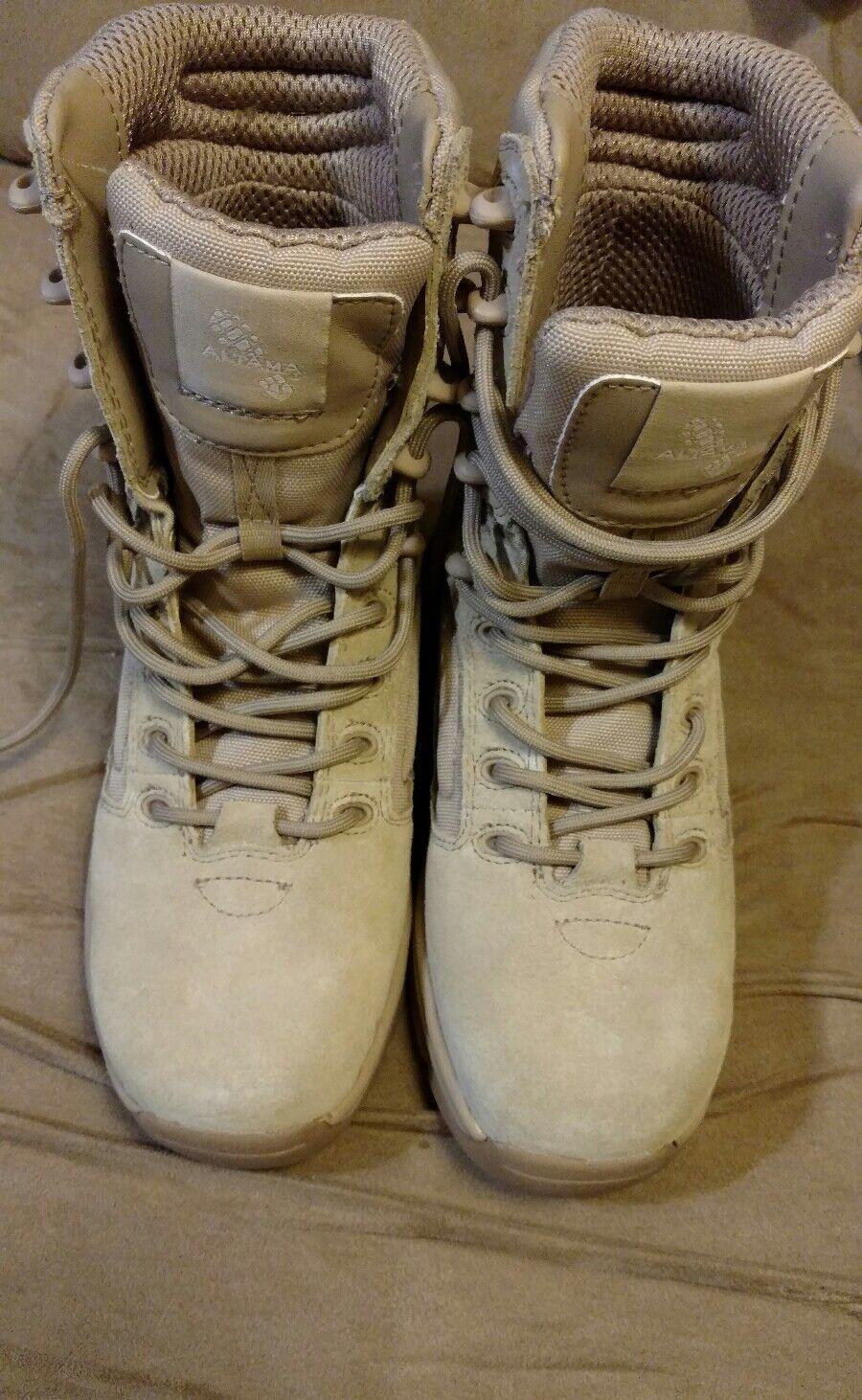 Altma Exospeed 2 para mujer Talla 4.5 policía militar Desert Workbotas tan Desert militar 9b9e32