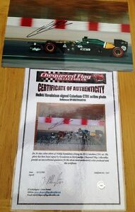 CHEQUERED FLAG COLLECTABLES H KOVALAINEN signed Caterham CT01 action photo 2012 - <span itemprop=availableAtOrFrom>NOTTINGHAM, Nottinghamshire, United Kingdom</span> - Returns If you have received goods that are not required, are dissatisfied with any goods or have ordered them by mistake please telephone or e-mail immediately and re - NOTTINGHAM, Nottinghamshire, United Kingdom