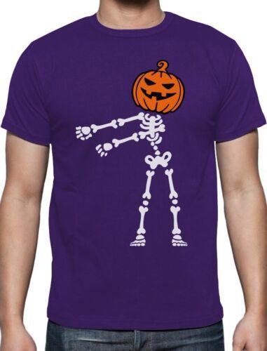 Skeleton Floss Dance Jack O/' Lantern Pumpkin Halloween T-Shirt Flossing