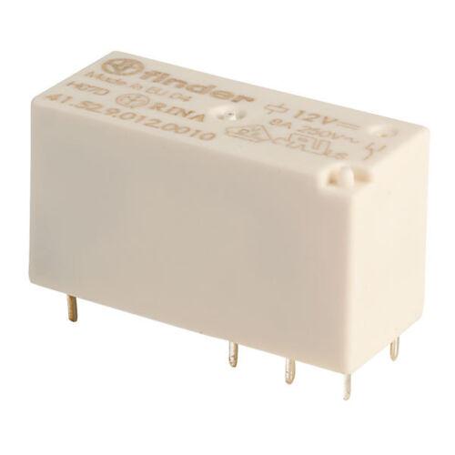 Finder 41.52.9.012.0010 12V Relay DPDT 8A 41.52 Low Profile